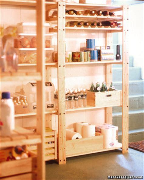 organizing  basement martha stewart