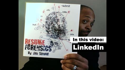resume forensics   find resumes  linkedin youtube