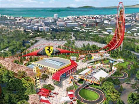 ferrari land theme park revs   spain  economic times
