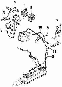 1998 Ford Contour Power Steering Pump Diagram