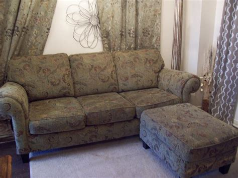 green sofas for sale elegant 7ft green sofa w ottoman for sale can deliver