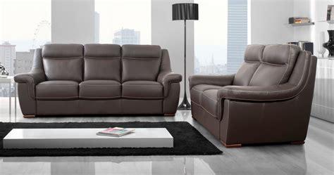 canapé cuir vachette carla salon cuir fixe ou relaxation personnalisble sur