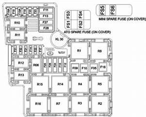 Tata Aria - Fuse Box Diagram