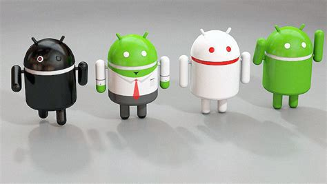 android model android 3d logo 3d model obj c4d cgtrader