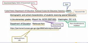 write cite special education research infoguides at With government documents website