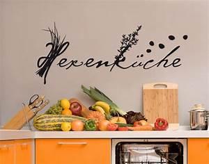 Wandtattoo Sprüche Küche : wandtattoo k che hexenk che wandtattoo spr che zitate ~ Frokenaadalensverden.com Haus und Dekorationen
