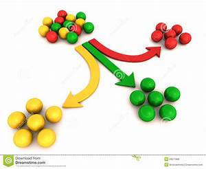 Product Or Service Segmentation Stock Illustration ...