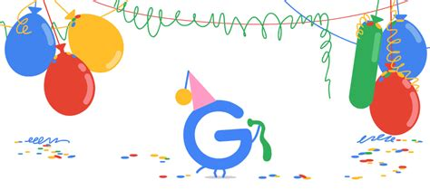When Is Google's Birthday? Doodle Suggests Its September