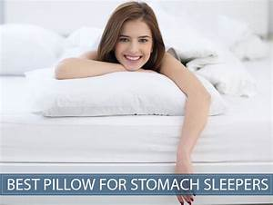 Best pillow for a stomach sleeper does the thinnest for Best down pillows for stomach sleepers