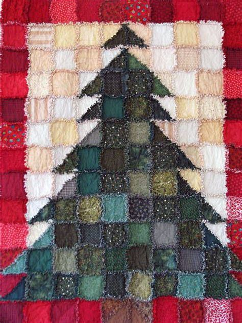 christmas trees pictures of and christmas rag quilts on pinterest