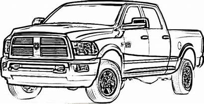 Coloring Dodge Truck Pages Longhorn Drawings Chevy