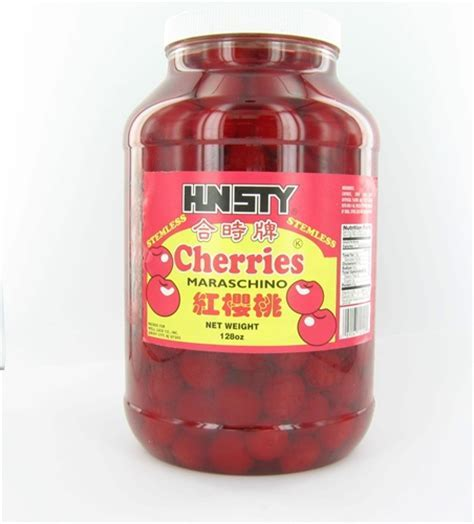 MARASCHINO Cherry No Stem 1 Gallon   Restaurant Cherries