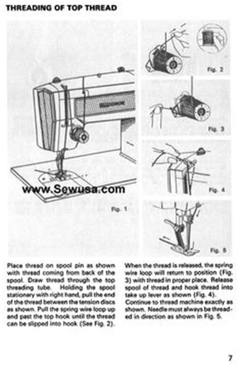 Kenmore Sewing Machine Threading Diagram