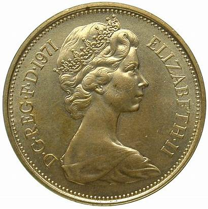 Pence 1971 Coins Britain Kingdom United Elizabeth