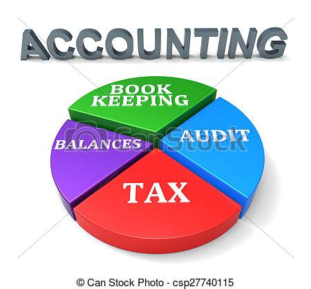 Accounting Clipart Graph Clipart Chartered Accountant Pencil And In Color