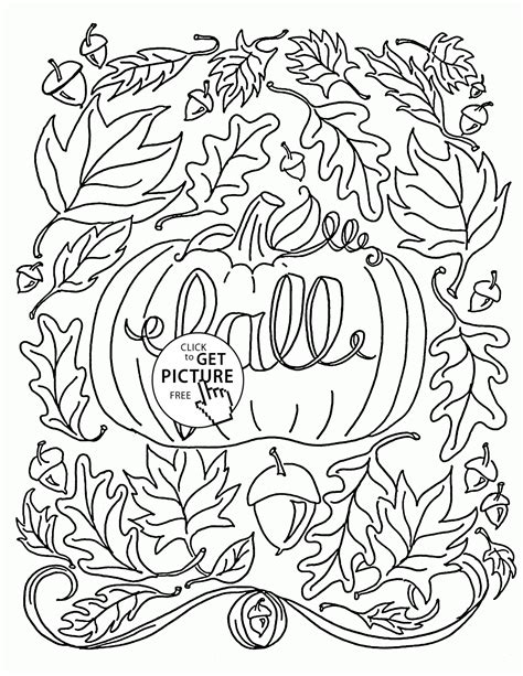 coloring pages fall it is fall coloring pages for autumn printables free