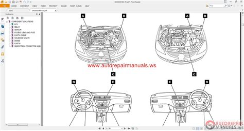 mitsubishi lancer ix 2005 wiring diagrams auto repair manual forum heavy equipment forums