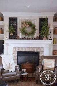 Fall Decorating Mantel The Lettered Cottage