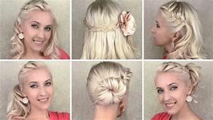 Coiffure Pour Cheveux Mi Longs : tuto coiffure pour tous les jours avec tresse cheveux mi longs et longs youtube ~ Melissatoandfro.com Idées de Décoration