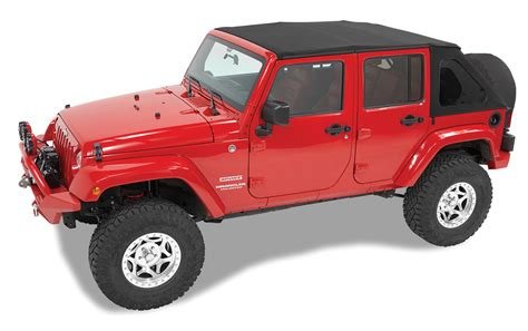 jeep wrangler unlimited soft top bestop 56923 17 trektop nx twill soft top for 07 17 jeep