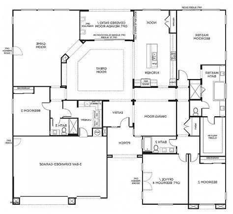 6 bedroom house plans small 4 bedroom house plans one savae org