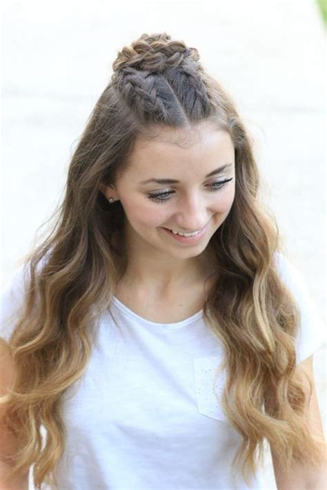 easy hairstyles for teenage girls pin on hair styles