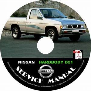 1994 94 Nissan Hardbody Pickup Service Repair Shop Manual