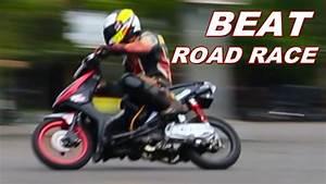 Wow   Setting Motor Matic Honda Beat Karbu Road Race Indonesia