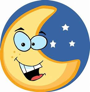 Cartoon Moon - ClipArt Best