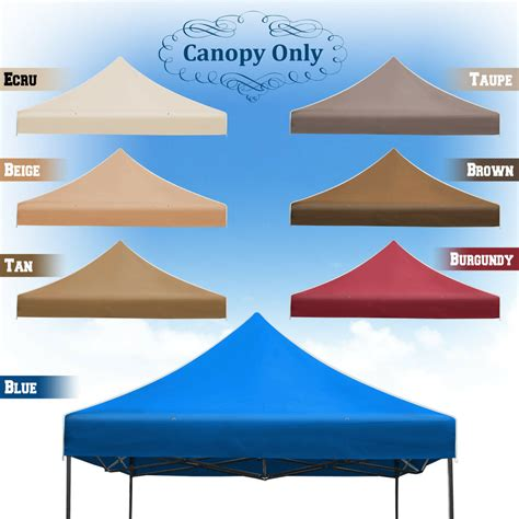 ez up gazebo new replacement canopy for 10x10 ez pop up instant gazebo