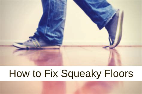 Stop Squeaky Floors From Above by 100 Fix Squeaky Floors From Below How To Fix A
