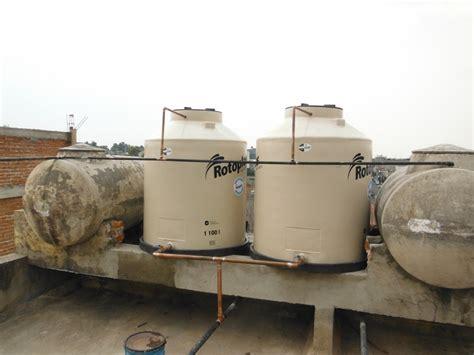 sustitucion  colocacion de tinacos  cisternas