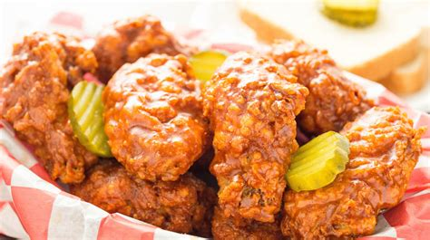 nashville hot chicken wings recipe cooking  janica