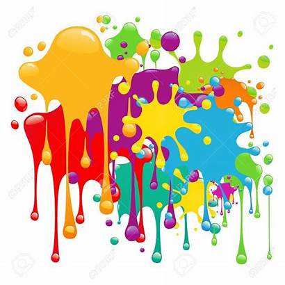 Splash Paint Clipart Splashes Splatter Vector Pintura