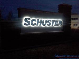 signs by benchmark wholesale supplier of quality With lit letters sign