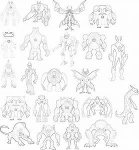 Waybig Ben 10 Drawing