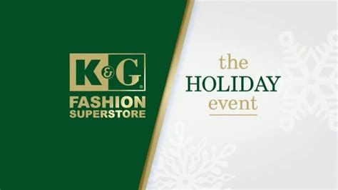 K&g Fashion Superstore The Holiday Event Tv Commercial