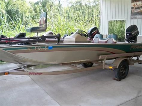 Fisher Marine Boats by Fisher Aluminum Bass Boat Boats For Sale