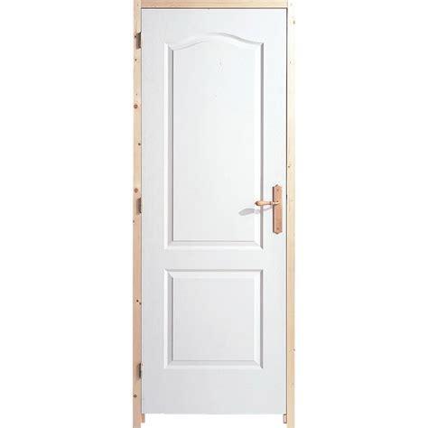 porte chambre leroy merlin bloc porte postformé h 204 x l 83 cm poussant droit