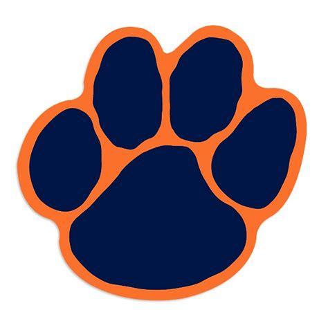 Tiger Paw Clip Auburn Tiger Paw Clipart