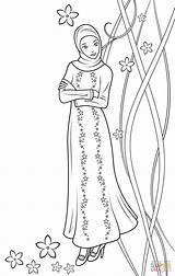 Coloring Doll Fulla Pages Islamic Printable Muslim Ramadan Supercoloring Dolls Barbie Cabbage Patch Islam Super Anime Paper Princess Crafts Drawing sketch template