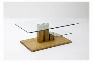 Table Basse Bois Et Verre : table basse de salon bois massif et verre pour table basse ~ Teatrodelosmanantiales.com Idées de Décoration