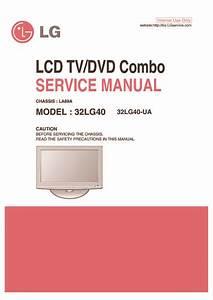 Lg 32lg40 Chassis La89a  Service Manual  Repair Schematics