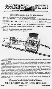 American Flyer Log Loader 751 Instructions