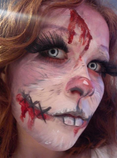 coolest bunny halloween makeup ideas  wow style