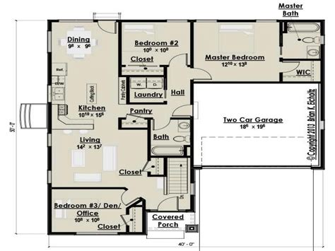 cottages floor plans small three bedroom cottage house plans farmhouse bedroom