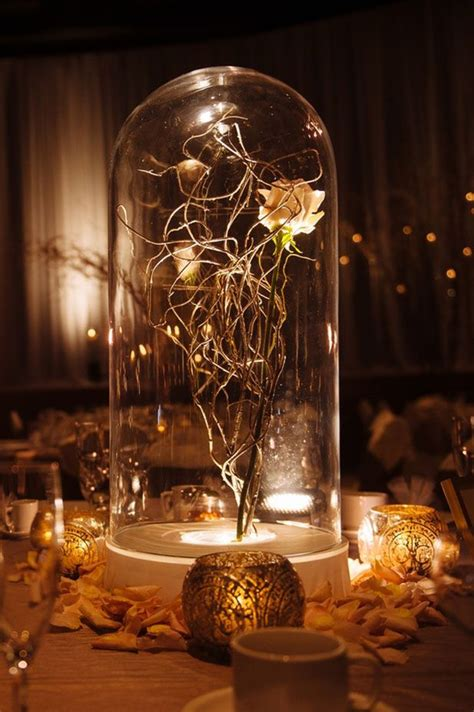Beauty And The Beast Wedding Centerpieces