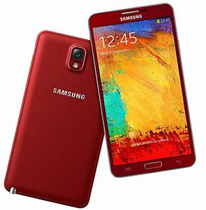 Red And White Gold Samsung Galaxy Note 3 Go Official In