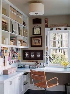 Beautiful, Small, Work, Office, Decorating, Ideas, 29