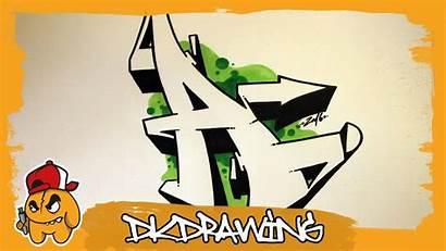 Graffiti Letter Letters Draw Alphabet Tutorial